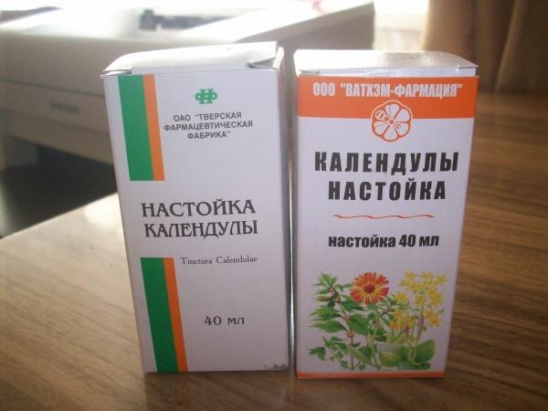 Спиртовая настойка календулы, польза и показания, рецепты для лечения, противопоказания