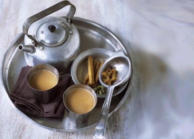 Как сделать чай на молоке