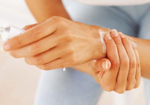 как снять боль при артрите кистей рук