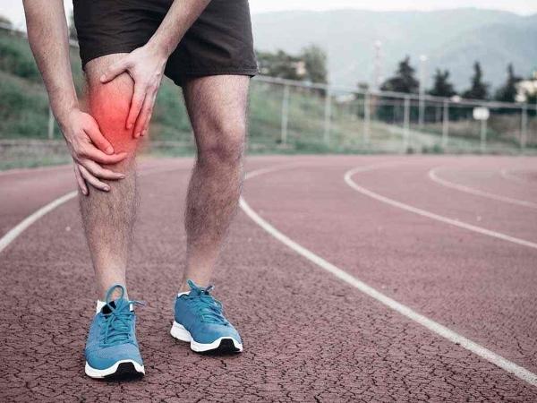 Боль в колене из-за травмы