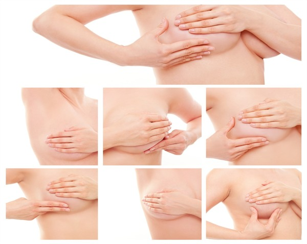Самоосмотр груди
