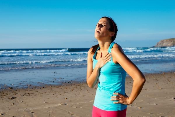 Одышка при сердечной недостаточности во время бега