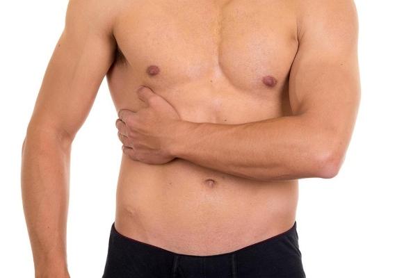 Болит внизу груди левой