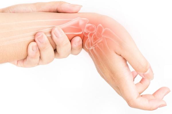 Как снять боль в лучезапястном суставе прибор биостимуляторы для суставов
