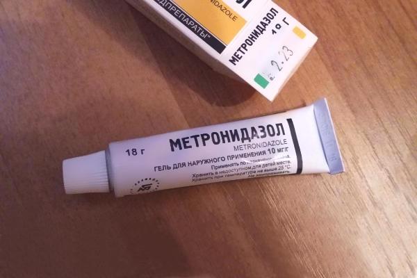 Метронидазол от прыщей: как и когда принимать гель