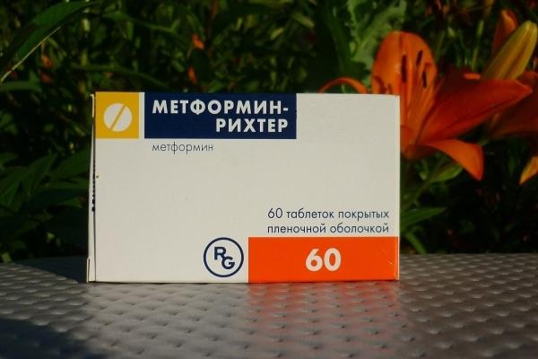 метформин на ночь для похудения