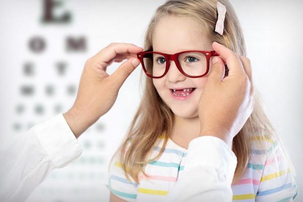 Подбор очков ребёнку