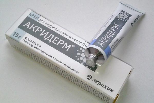 Акридерм помогает ли от грибка ногтей