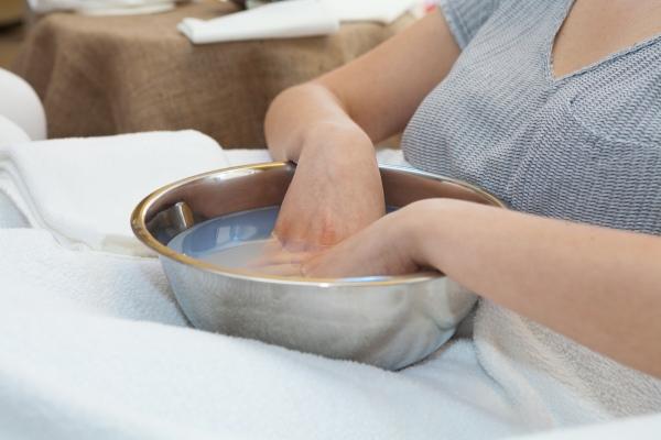 Солевые ванны против грибка